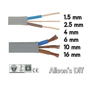 Twin and Earth 6242Y   3 Core and Earth 6243Y   Quality Electrical Cable Wire