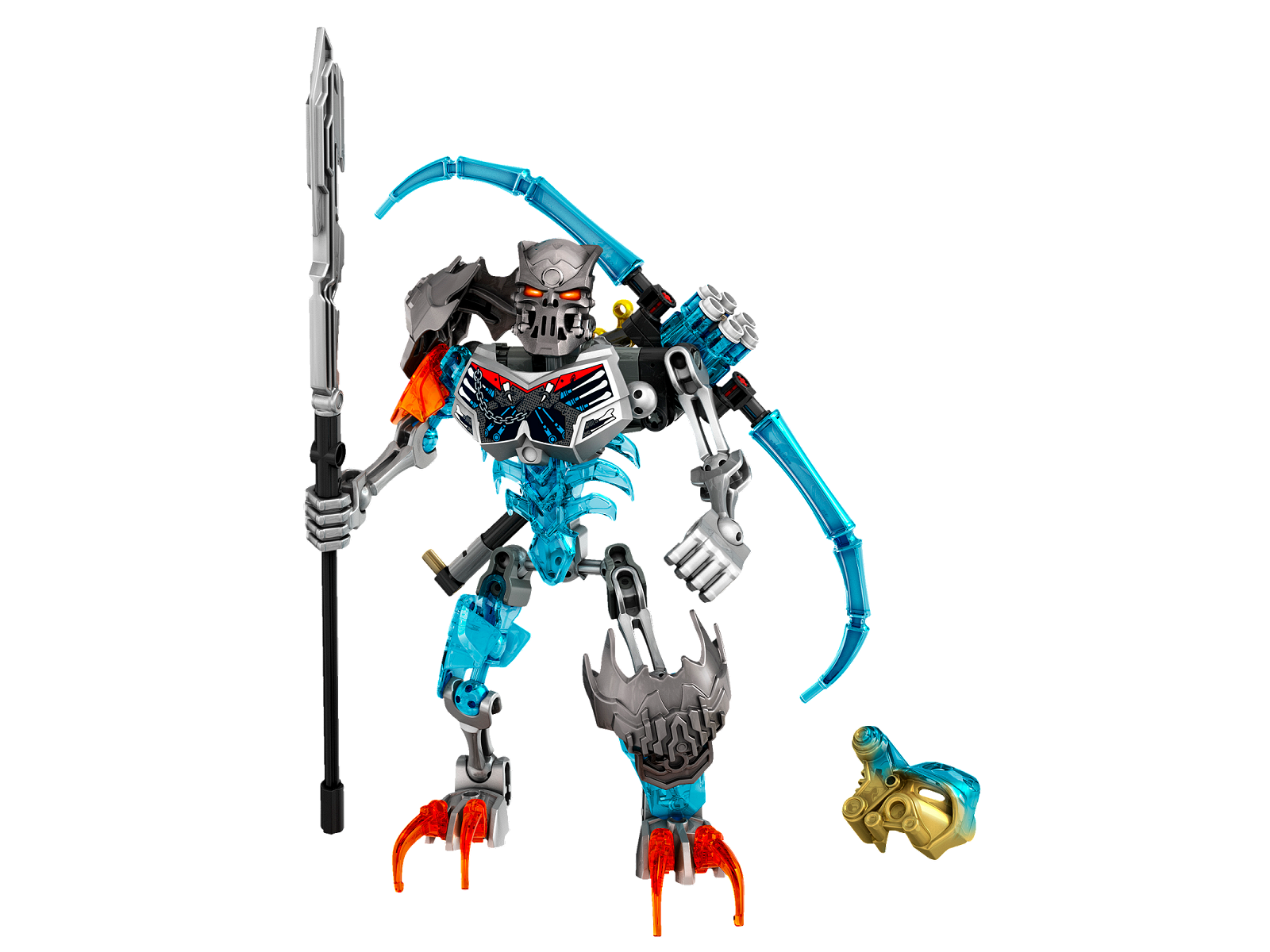 Lego 70791 Bionicle Skull Warrior complet + Notice + boite neuf de 2015 -CNB32