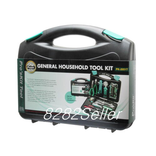 ProsKit PK-2051T General Household Tool Kit compact and durable carrying case