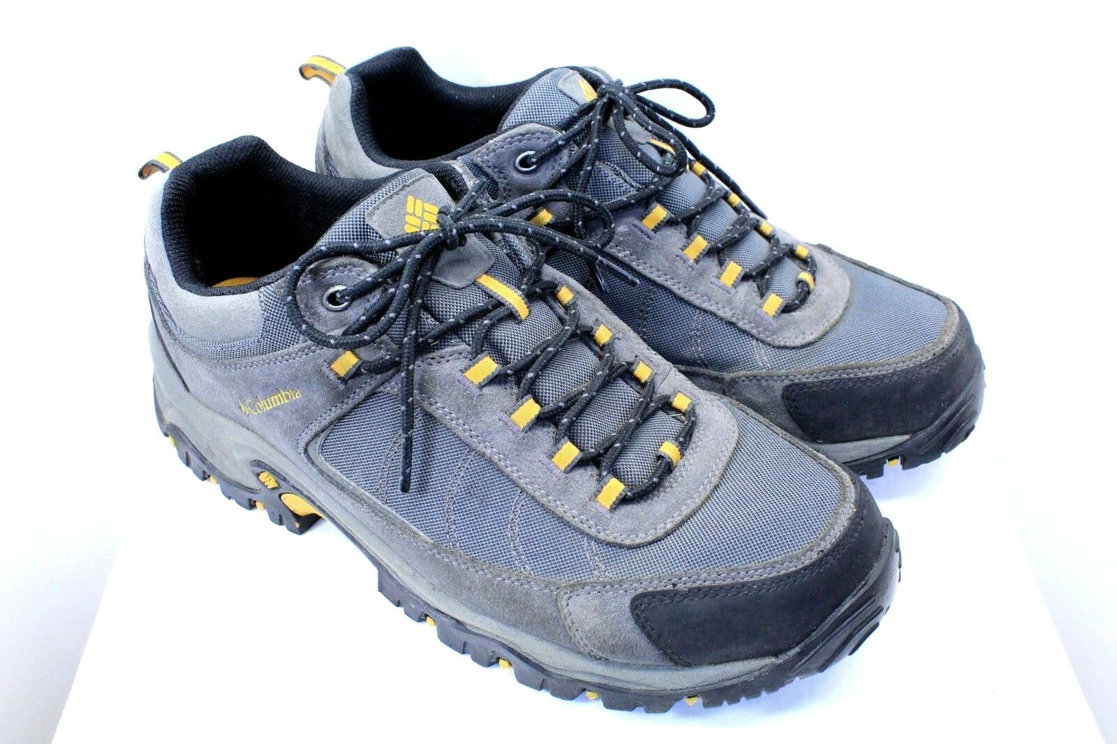bb4749b2b5c COLUMBIA brand brand brand mens hiking shoes size 11 leather and fabric  well made WD6 435c55 ...