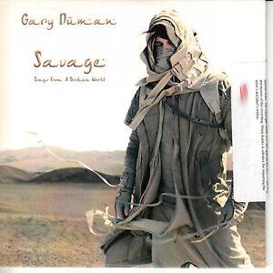 GARY-NUMAN-Savage-2017-UK-12-trk-numbered-promo-CD-sealed