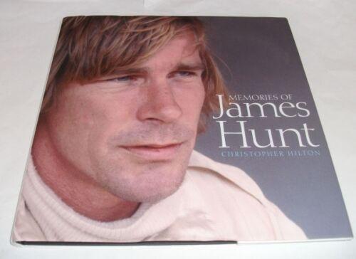 1 of 1 - Christopher Hilton: MEMORIES OF JAMES HUNT. Haynes,2006. 1st.edition. HB/DJ. 1/1