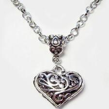 bijou celtique gothique vintage Collier pendentif le coeur de Caroline
