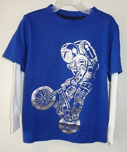 NWT Gymboree Boy Astronaut Shirt Tee Shirt Boy Long Sleeve 4,5-6,7-8,10-12,14