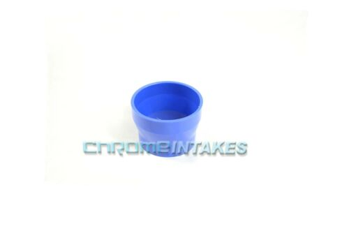 """BLUE 3/""""-3.5/"""" AIR INTAKE//PIPING RUBBER REDUCER COUPLER FOR CHEVY 89-99"""