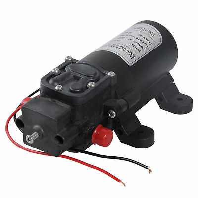 Trash Pump Miniature 12V Water Pump 3L/Min Self-Priming Caravan Camping Boat