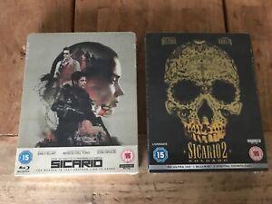 Sicario-and-Sicario-Soldado-4k-Blu-ray-Steelbook-Zavvi-bundle