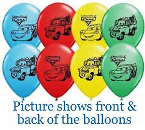Disney-Cars-Party-Supplies-Cars-Balloons-Printed-30cm-Latex-2-for-1-50