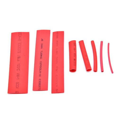 328X 5 Farben 8 Größen sortiert 2 1 Schrumpfschlauch WrapSleeve Kit obenGut QH
