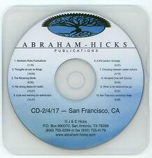Abraham-Hicks Esther CD 2-4-17 San Francisco Edited Workshop - New