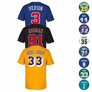 f3ac71a7a NBA Legends HOF Adidas Soul Swingman Player Name   Number Jersey T ...