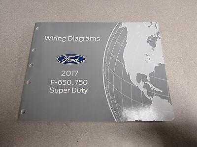 2017 Ford F-650 F-750 Super Duty Electrical Wiring Diagram ...