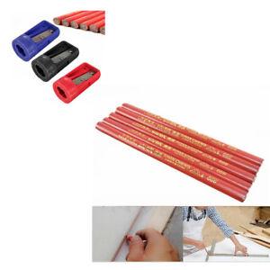 2~20x Carpenters Pencils Black Bolder Lead For DIY Builders Joiners Woodwork