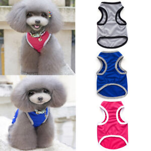 Summer-Lovely-Jacket-Coat-Vest-T-shirt-Clothes-Clothing-For-Dog-Puppy-Pet-Adidog