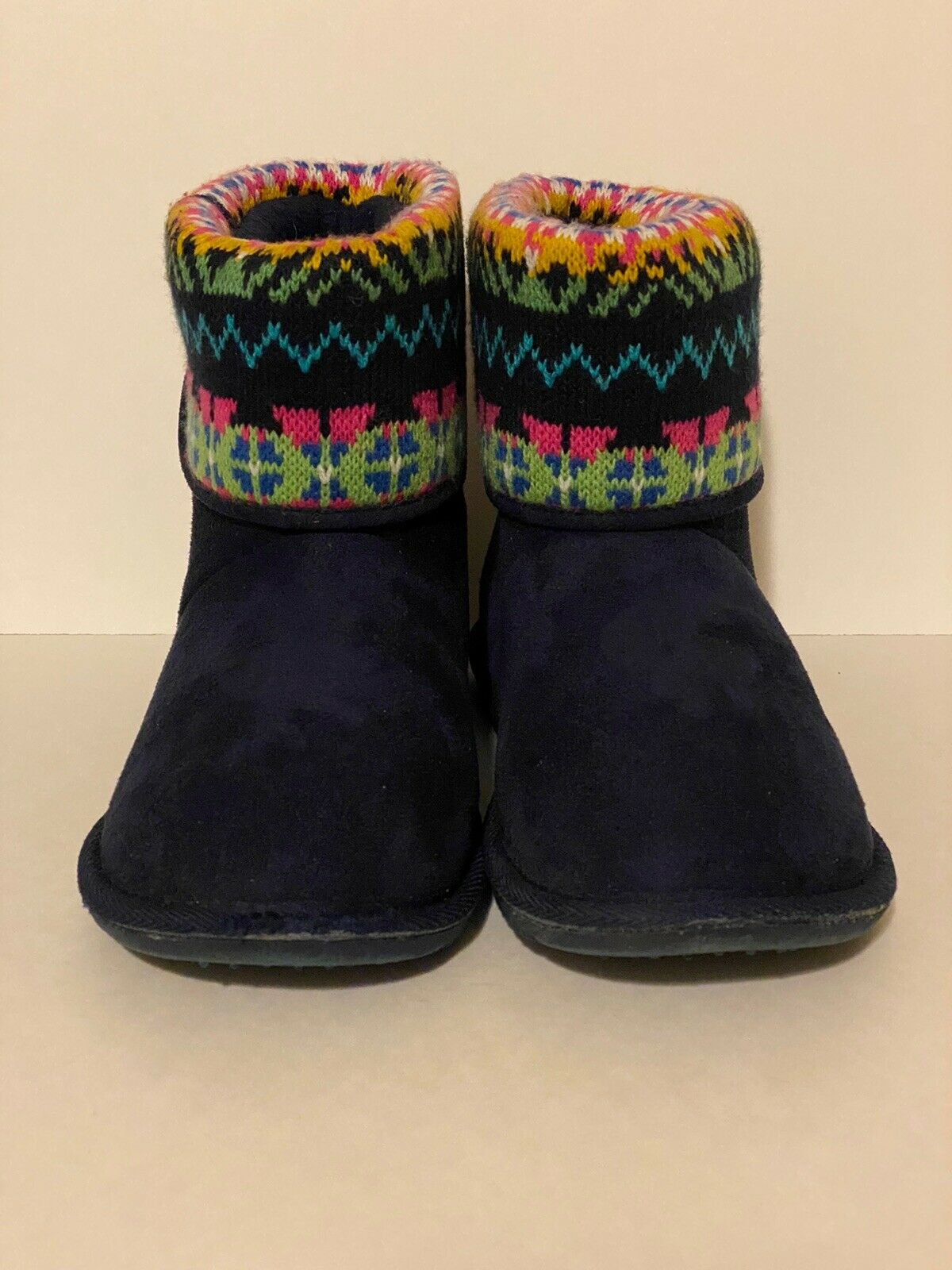 American Rag Bunny bleu marine Temps froid Bottes Taille 9