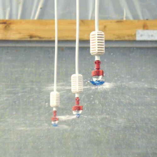 Polytunnel Overhead Sprinkler Irrigation Kits 25ft50ft75ft Watering