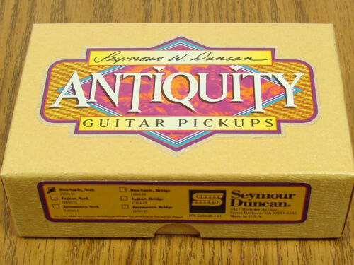 NEW Seymour Duncan Antiquity Duo-Sonic PICKUP Neck for Fender 50s Relic Aged