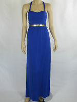 T By Bettina Liano Ladies Fashion Sleeveless Long Dress Sizes 6 8 Colour Blue