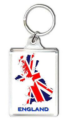 PORTACHIAVI pelle porta chiavi auto keychain Guantoni da boxe UK INGHILTERRA