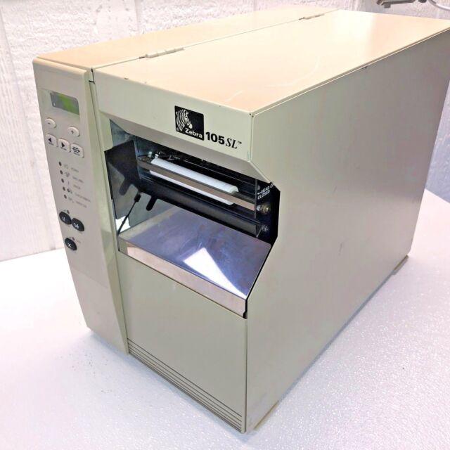 Zebra 105SL Industrial DT/TT étiquette imprimante 10500-2001-0071 Ethernet Serial