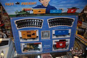 G-Bachmann-90196-Lil-Big-Haulers-Fast-Freight-Train-Set-NIB
