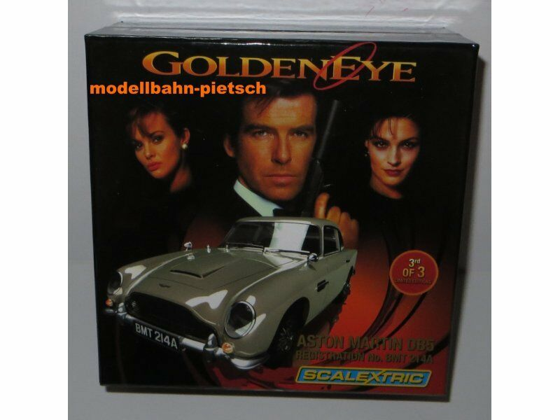 SCALEXTRIC 3163A  James Bond 007 GoldEN EYE - Aston Martin DB5  limited,neu, OVP