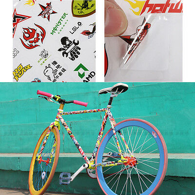 Cycling Bicycle Scrapbook Sticker BMX MTB Road Bike Decal Stickers Useful