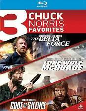 Delta Force / Lone Wolf Mcquade / Code of Silence [Blu-ray], New DVDs