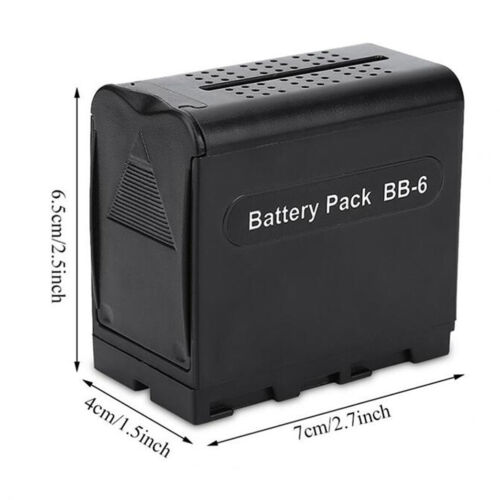 AA battery pack replacement adapter case for NP-F550 F970 F750 7.5V 6xAA  NS