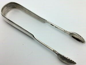 Scottish-Provincial-Silver-tongs-Perth-c1825-marked-for-Charles-Murray