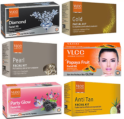 VLCC Facial Kit for Luminious And Radiant Complexion for 6 Step For All  Skin FFS   eBay