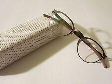 Mykita Decades JAMES Brown Glasses Eyewear Eyeglass Frame Handmade Germany NEW