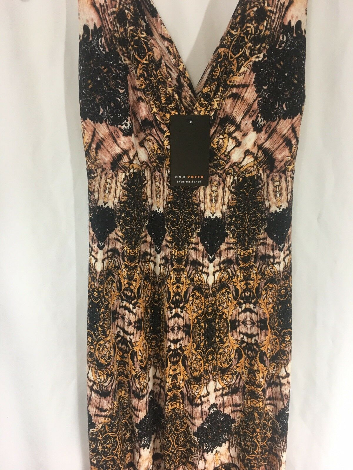 EVA VARRO NWT Long Maxi Dress Größe XS NEW Made In USA