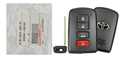 In Bag Genuine OEM Smart Prox Key Fob Remote For Toyota Camry Avalon Corolla