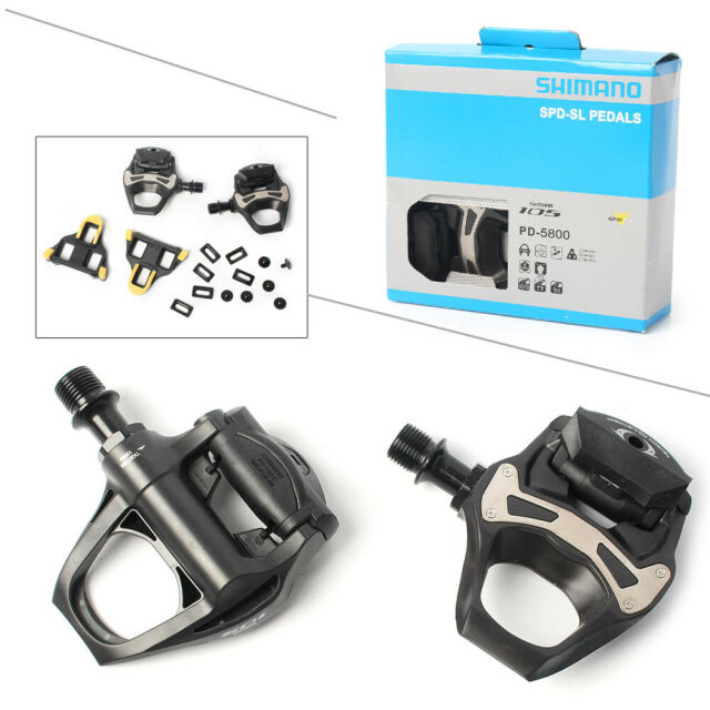 Shimano 105 PD-5800 SPD SL Bicycle pedal Road bike Clipless Pedals Float cleats