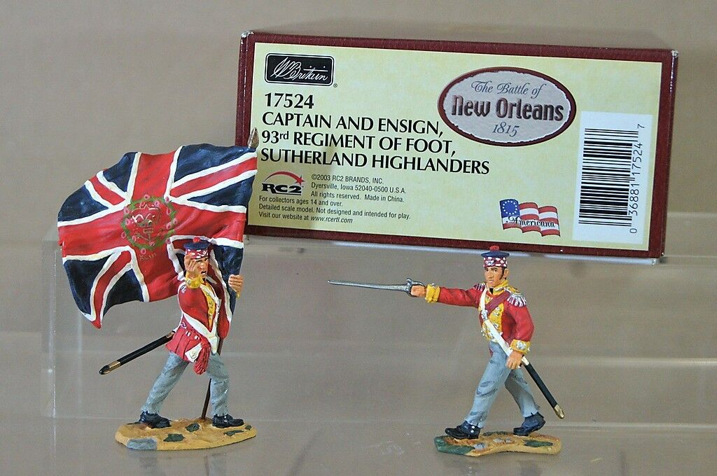 Britains 17524 Battle Of Nuevo Orleans 1815 Capitán 93rd Sutherland Highlanders