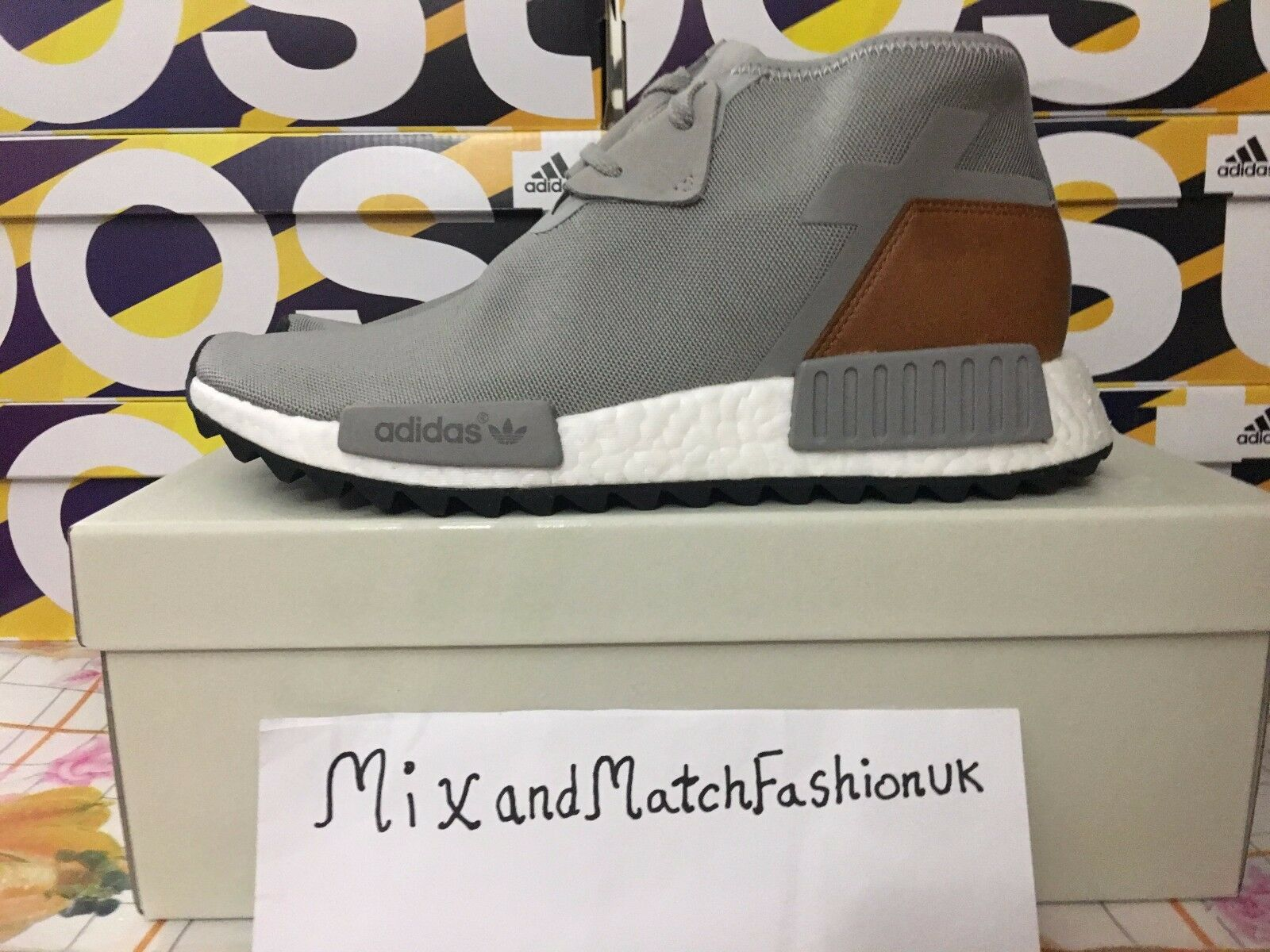 Adidas NMD C1 TR Chukka Ultra Boost Solid  Gris  S818358 EU 42 US 8.5