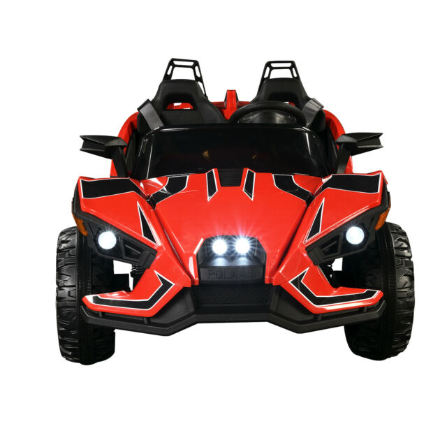 Polaris Slingshot Style 12v Kids Ride On Toy Cars Electric Battery Light Truck