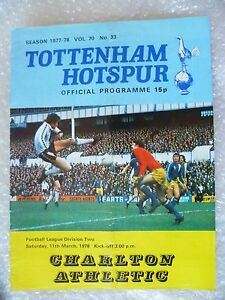 1978-Tottenham-Hotspur-v-Charlton-Athletic-11th-March-League-Division-Two