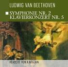 Sinfonie 2,Klavierkonzert 5 von Beethoven-Karajan (2015)