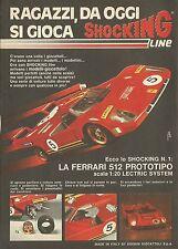 X4983 FERRARI 512 - Edison giocattoli - Pubblicità 1972 - Advertising