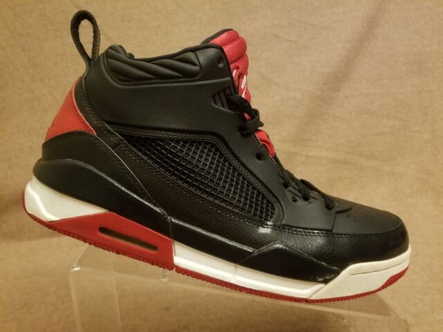buy popular 4036d 65e7d Nike 654262-001 Jordan Flight 9.5 Men Black Gym Red White Basketball Shoes  Sz 11