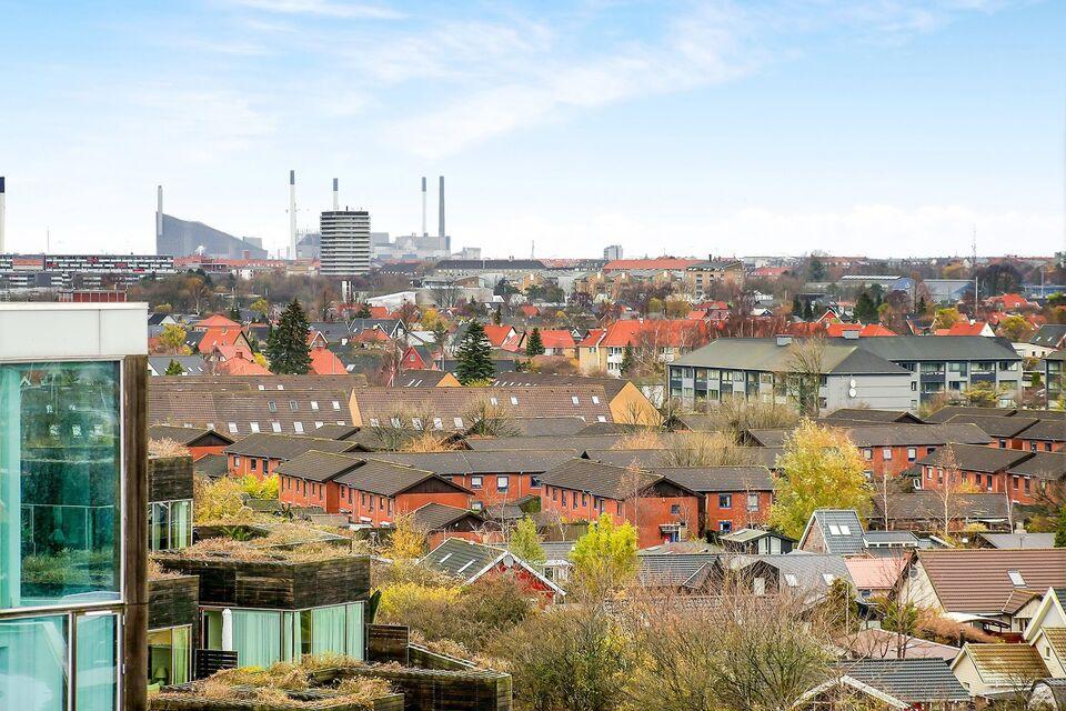 Ørestad Vhuset 7.sal flot udsigt 2etager
