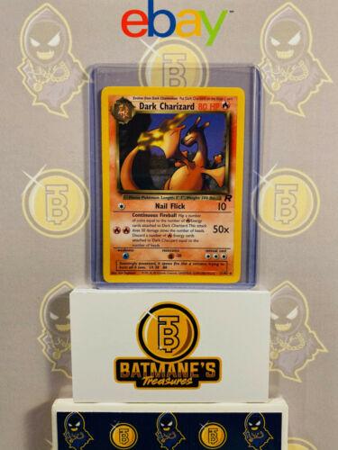 Dark Charizard 21//82 NM Near Mint Team Rocket Rare Non-Holo Pokemon Card