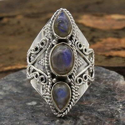 sve2822 Labradorite Oval Shape Gemstone Earrings For Christmas Gift 925 Sterling Silver Designer Handmade Earrings Jewelry Length 1.75