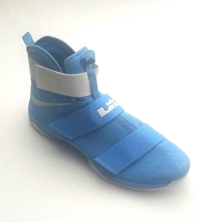 Nike Uomo 856489-443 LeBron Soldier 10 TB TB TB scarpe University blu bianca Dimensione 18 32aacc