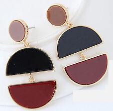 MARNI H&M Double Moon  Pendant Earrings