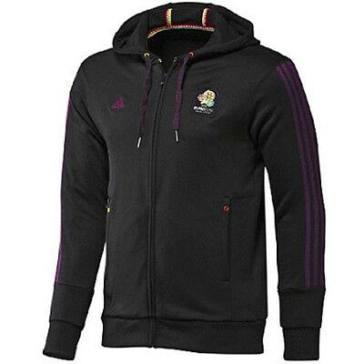 Adidas OE Hoody M Jacke mit Kapuze Sportjacke Herren Gr S M schwarz   eBay