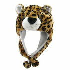 New Lovely Anime Cosplay Leopard Animal Style Soft Plush Warm Hat New Year Gift