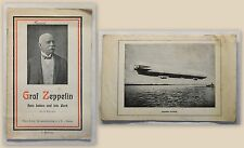 Schindler: Graf Zeppelin - Sein Leben und sein Werk (um 1920) - Luftschiff - xz